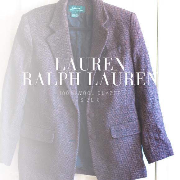 Lauren Ralph Lauren Jackets & Blazers - Lauren Ralph Lauren Women's Brown/Black Blazer 8